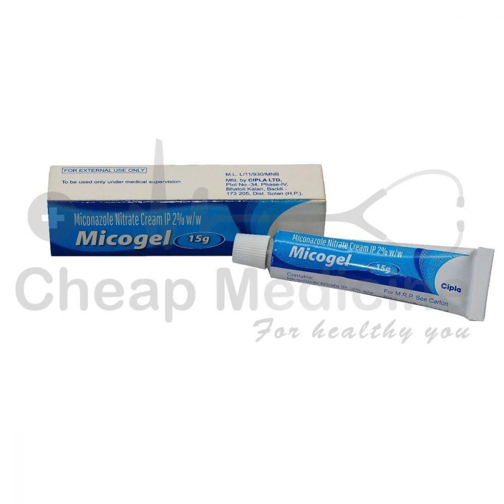 Micogel 2%, Miconazole Nitrate front View