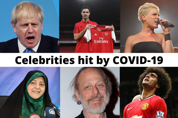 CELEBRITIES WITH COVID19 WORLDWIDE: WHO AND WHO?